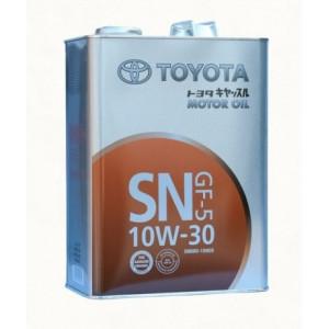 Моторное масло TOYOTA Motor Oil GF-5 10W30