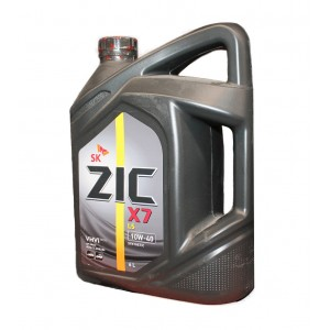 Моторное масло ZIC X7 LS (A+) 10W40