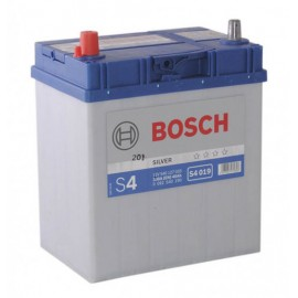 Аккумулятор Bosch S4 019 Silver 40Ah/330 лев+/прямая 187*127*227