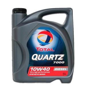 Моторное масло TOTAL Quartz D 7000 10W40