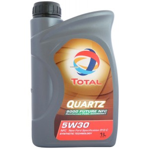 Моторное масло TOTAL Quartz Future 9000 5W30