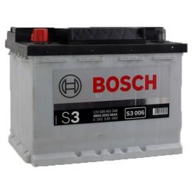 Аккумулятор Bosch S3 56Ah/480 лев+/прямая 242*175*190