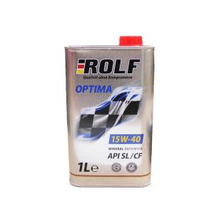 Моторное масло Rolf Optima 15W40