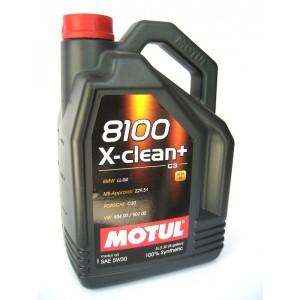 Моторное масло MOTUL 8100 X-clean+ 5W30