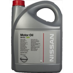 Моторное масло NISSAN  Motor Oil 5W30