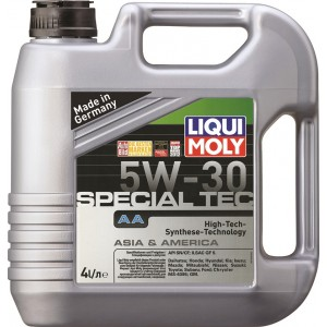Моторное масло LIQUI MOLY Special Tec AA 5W30