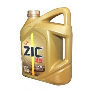 Моторное масло ZIC X9 LS (XQ LS) 5W30