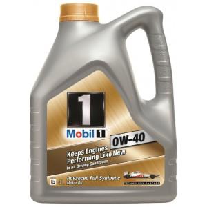 Моторное масло Mobil 10W40