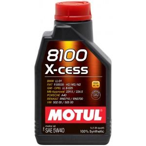 Моторное масло MOTUL 8100 X-cess 5W40