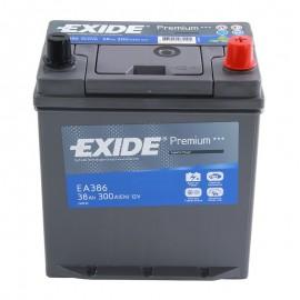 Аккумулятор Exide Premium 38Ah/300 прав+/обратная 187*127*220