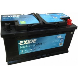 Аккумулятор Exide Start-Stop AGM 95Ah/850 прав+/обратная 353*175*190