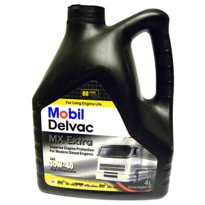 Моторное масло MOBIL Delvac MX Extra 10W40
