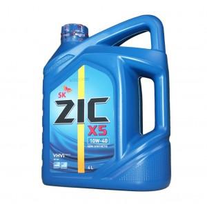 Моторное масло ZIC X5 10W40