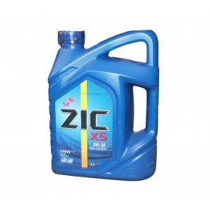 Моторное масло ZIC X5 5W30