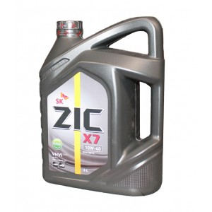 Моторное масло ZIC X7 10W40