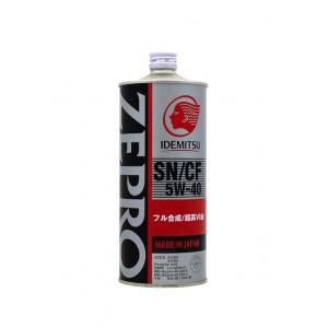 Моторное масло IDEMITSU ZEPRO EURO SPEC 5W40