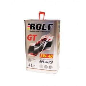 Моторное масло Rolf GT 5W40 SN/CF