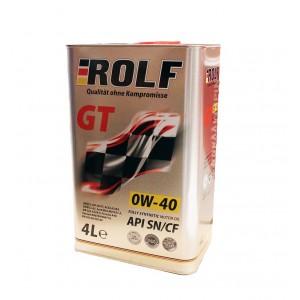 Моторное масло Rolf GT 0W40