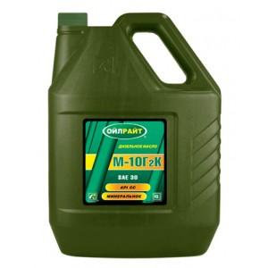 Моторное масло OILRIGHT М10Г2К 30